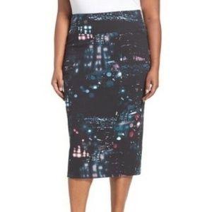 Melissa McCarthy Seven7 Pencil Skirt Plus Size
